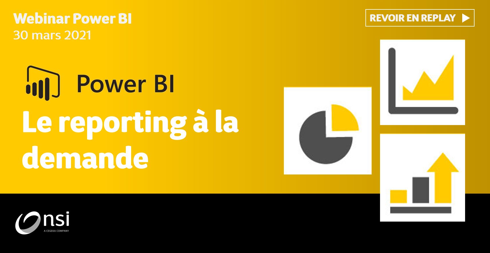Replay Webinaire - Power BI