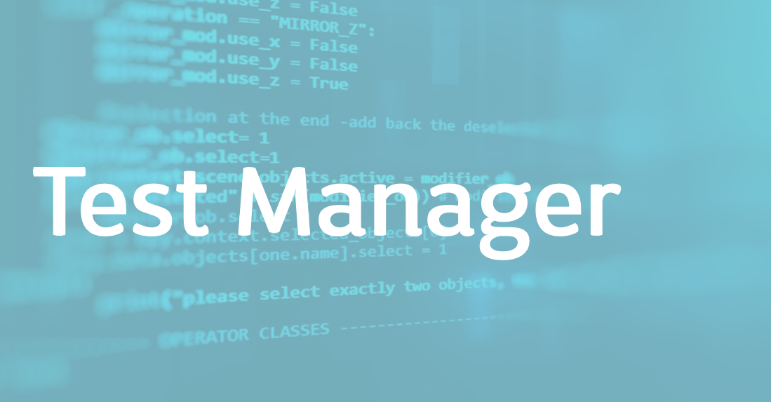 Test Manager – FR/EN