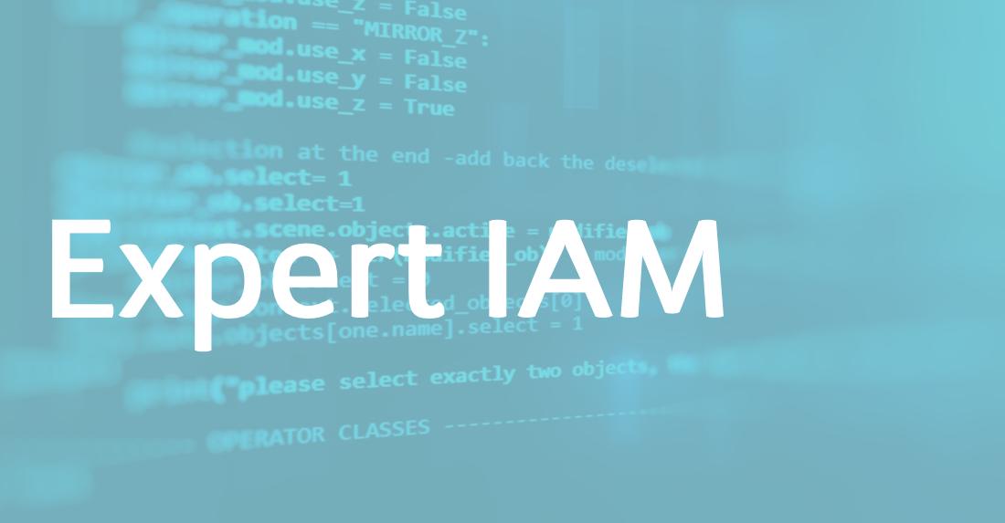 Expert IAM – FR/EN