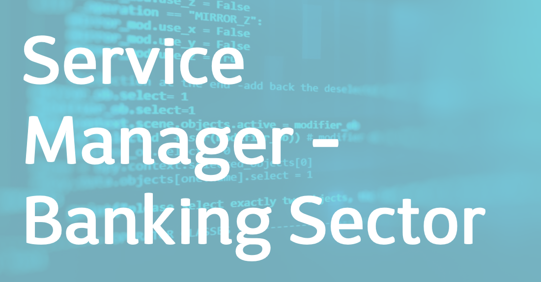 Service Manager – Datacenter Engineer Lead – EN
