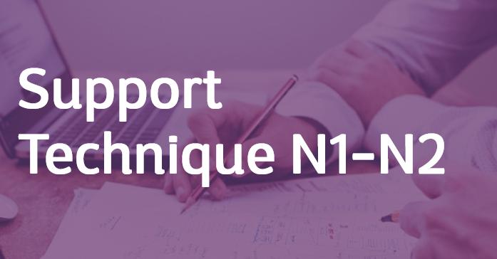 Support Technique N1-N2 – FR/EN
