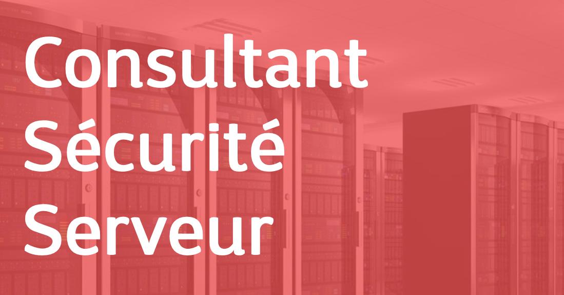 Consultant Sécurité Serveur – FR/EN