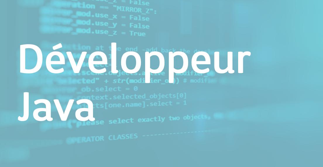 Développeur Java – FR/EN
