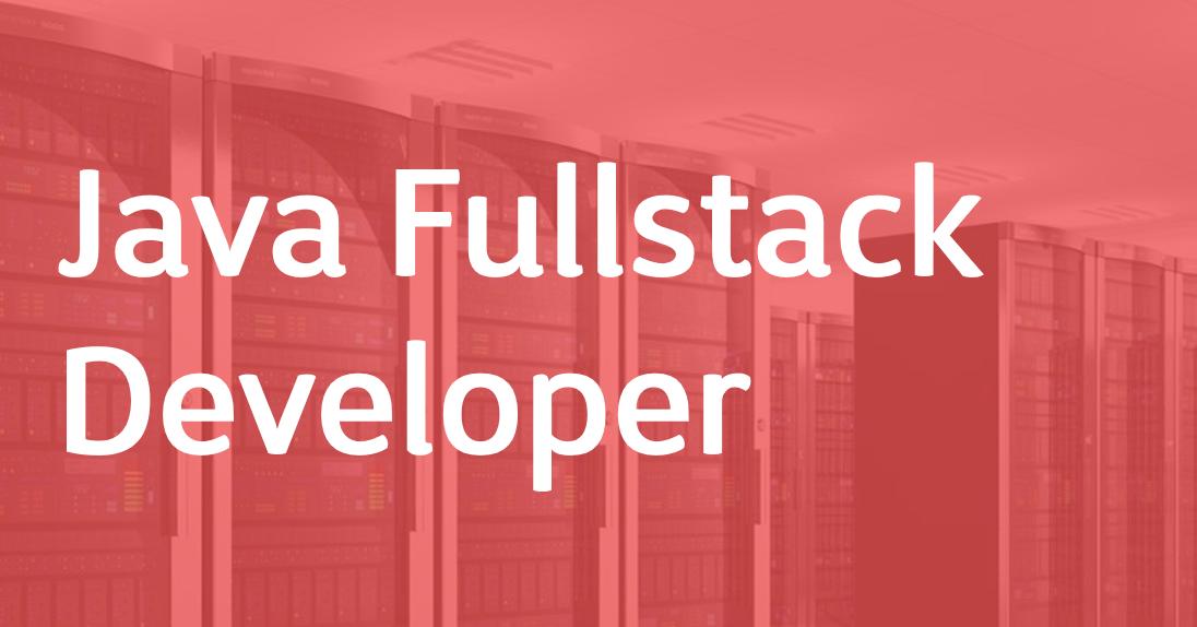 Java Fullstack Developer – EN