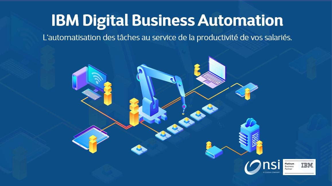 IBM DBA, l'automatisation des tâches au service de la productivité de vos salariés !