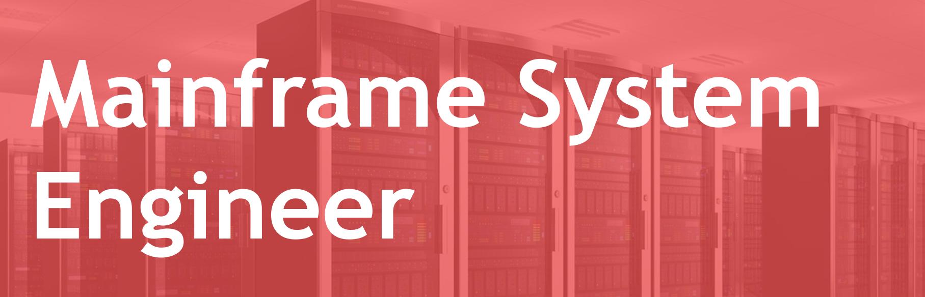 Mainframe System Engineer – FR/EN