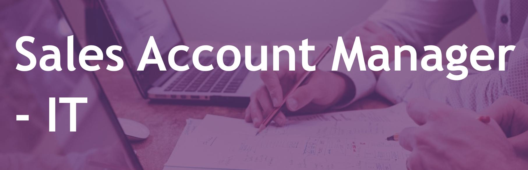 Sales Account Manager - IT - FR/EN